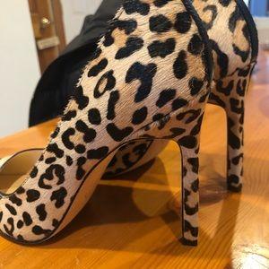Ivanka Trump Leopard Print Heels